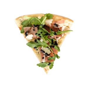 Pizza proscuitto et roquette