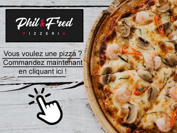 Vous voulez une pizza ? Commandez maintenant en cliquant ici !