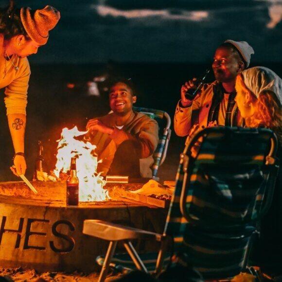 Petit feu de camps bien relax